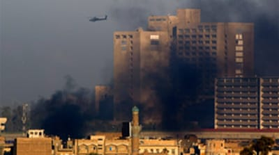 US helicopter crashes near Baghdad