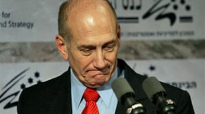 Olmert urges president to go