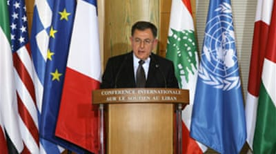 Billions pledged in aid to Lebanon