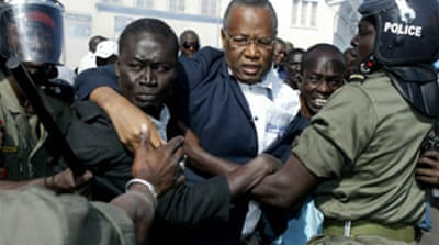 Senegal crushes opposition protest