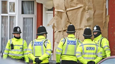 Arrests made in UK 'terror' raids
