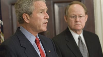 Bush begins diplomatic reshuffle