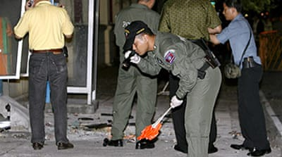 Blast hits Thai army headquarters