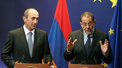 Armenia welcomes US genocide vote