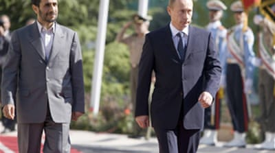 Putin arrives in Tehran for summit