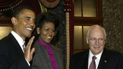 Obama and Cheney are 'cousins'