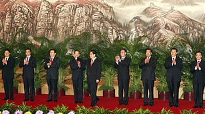 China unveils new leaders