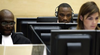 Congo militia leader appears at ICC