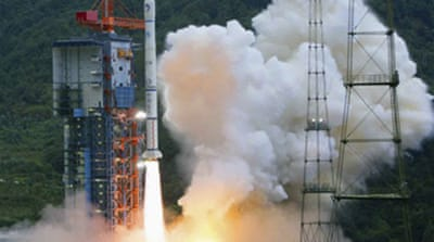 China sends lunar probe into space