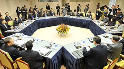 N Korea talks focus on energy aid