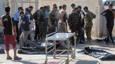 Blast kills Iraqi police recruits