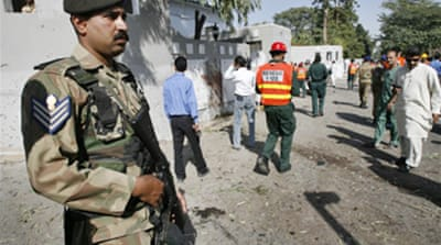 Deadly blast near Pakistan army HQ