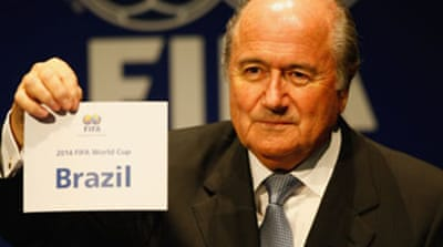 Brazil to host 2014 World Cup