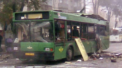 Deaths in Russia bus explosion