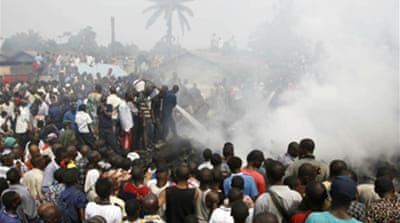 Toll rises in DR Congo air crash