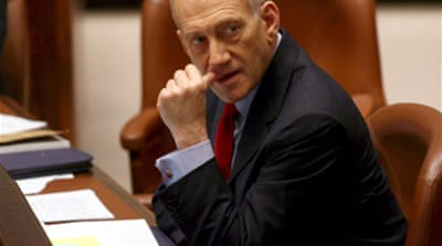 Olmert denies peace timetable
