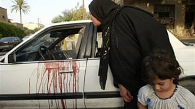 Iraqi women killed by security firm