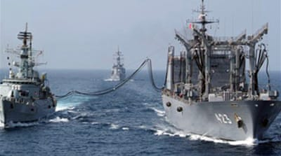 Japan lower house backs navy bill