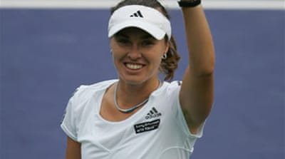 Hingis quits after 'positive test'