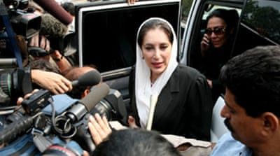Bhutto freed from house arrest