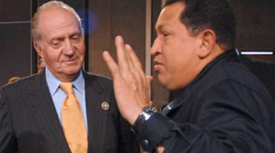 Shut up, Spanish king tells Chavez
