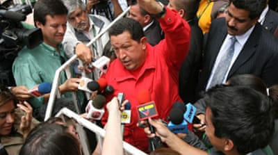 Chavez hits back at Spanish king