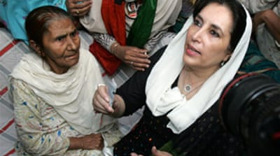 Pakistan's Bhutto detained again