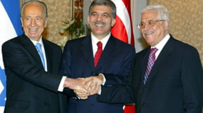 Abbas offers Israel 'sea of peace'