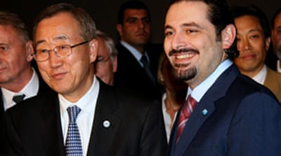 UN chief urges Lebanon consensus