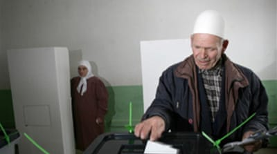 Kosovans vote in local elections