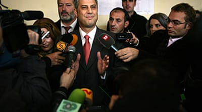 Kosovo elects Thaci as new PM