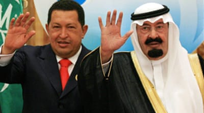 Chavez warns US at Opec summit