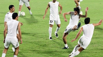 Iraq 'in chaos' ahead of qualifiers