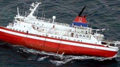 Rescuers save 150 in ship drama