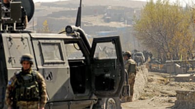 Afghan strategy review sought