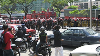 Malaysian protesters denied bail