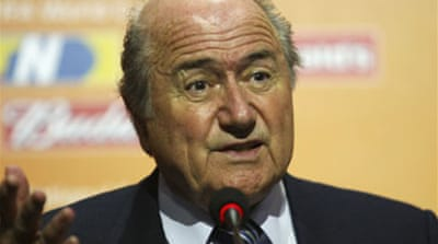 "Blatter blasts ""Brazilian invasion"""