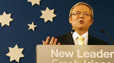 Rudd promises apology to Aborigines