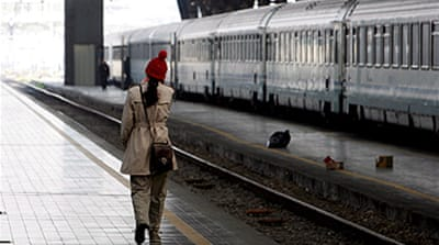 Italy crippled by transport strike