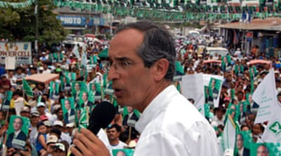 Colom wins Guatemala poll