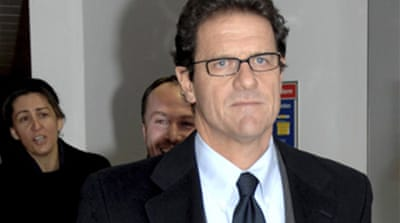 England give green light to Capello