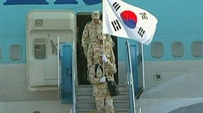Korean troops out of Afghanistan