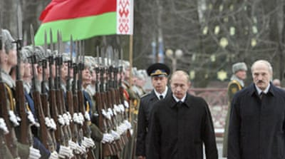 Russia and Belarus deny merger plan