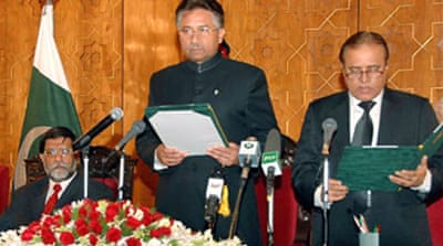 Musharraf ends emergency rule