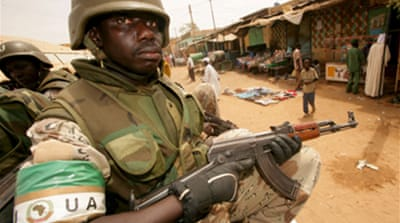 Darfur peace force falls short