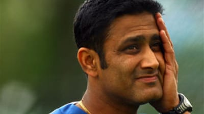Indian win raises Kumble's stocks