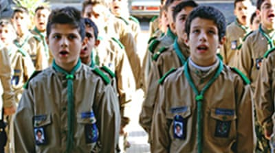 Hezbollah's Scout brigade