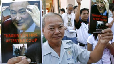 Thaksin shadow looms over Thai vote