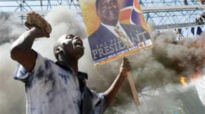 Kenyan president told to concede