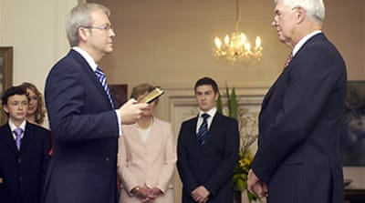 New Australia PM ratifies Kyoto